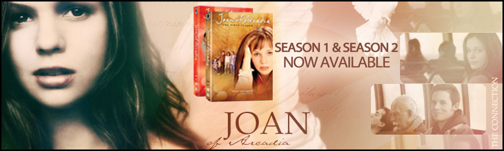 Joan of Arcadia DVDs